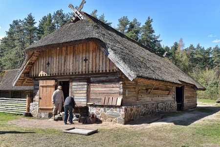 homesteads: The Latvian Ethnographic Open-air Museum is one of the oldest open-air museums in Europe. Now its territory covers 87.66 hectares of forest on the banks of Lake Jugla.