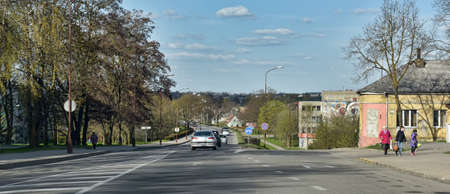 lithuania: Siauliai city in the Lithuania