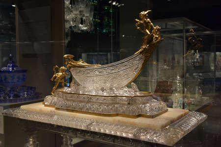 diversity of the region: Harvey Littleton Art Piece Museum of Glass Corning New York Finger Lakes Region