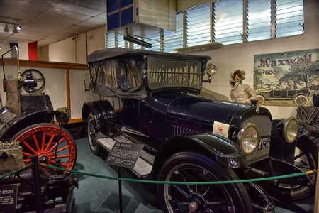 threw: Car and carriage caravan museum, Lurey, USA.