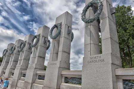 seconda guerra mondiale: Seconda Guerra Mondiale Memorial a Washington DC.