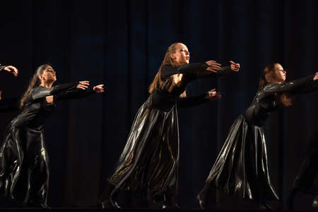igor: Performance of theatrical dance group, Russia, St. Petersburg.