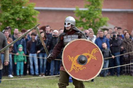 svcandinavians: Festival of historical reconstruction Legend of the Norwegian Vikings, St. Petersburg, Russia.