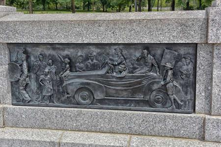 seconda guerra mondiale: Second World War Memorial in Washington DC. Editoriali