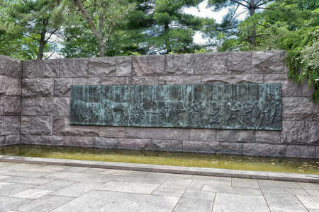 the franklin: Quotation in the Franklin Delano Roosevelt Memorial in Washington DC.