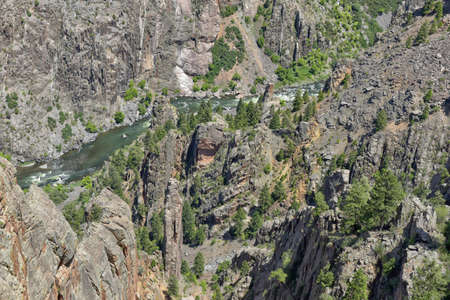 Landscape Black Canyon of the Gunnison National Park, Colorado, USA.