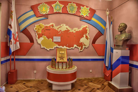 Military-Historical Museum of the Pacific Fleet, Vladivostok. Russia. Editorial