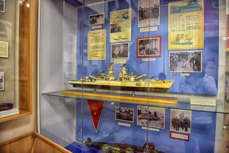 contributed: Military-Historical Museum of the Pacific Fleet, Vladivostok. Russia. The Museum of the Pacific Fleet was opened in 1950 and was initially located on the premises of the Lutheran church. Almost half a century later, however, its exposition moved to the an
