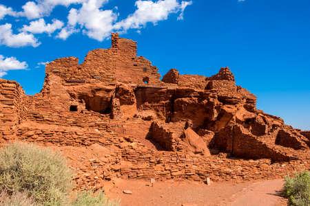 anasazi: Wupatki National Monument in Arizona.