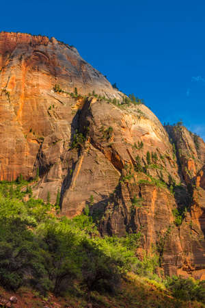 Zion National Park at Sunset, Utah