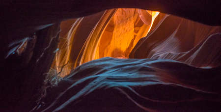 page arizona: The magnificent colors of Antelope Canyon near Page, Arizona.