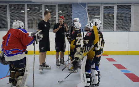 simulators: Training complex for hockey players, Ufa, Russia