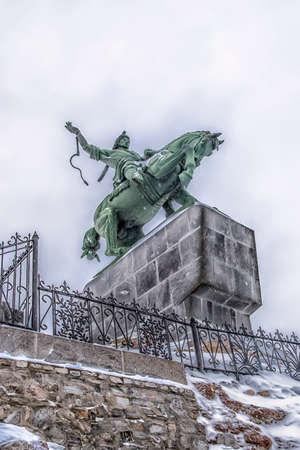 UFA, Bashkortostan, RUSSIA Monument to Salavat Yulaev in Ufa, Bashkortostan.