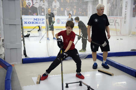 Training complex for hockey players, Ufa, Russia