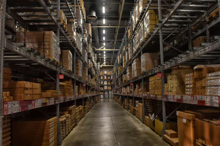 Russia, St.Petersburg, 22,07,2017 Ikea warehouse