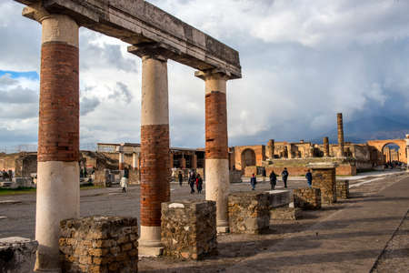 Italy, Pompeii, 02,01,2018