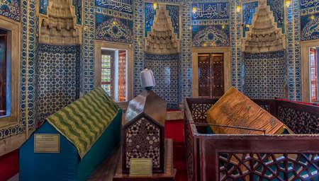 ISTANBUL, TURKEY - 13,03,2018 Tomb of Suleyman's wife Hurrem in Istanbul, Turkey