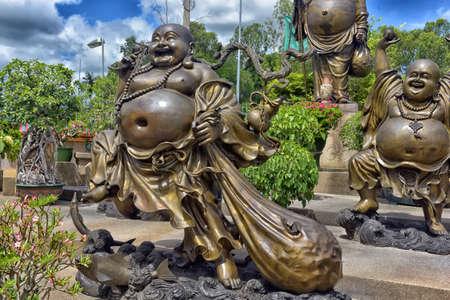 Anek Kuson Sala Pattaya,The Viharn Sien is a beautiful Chinese temple South of Pattaya Chonburi Thailand