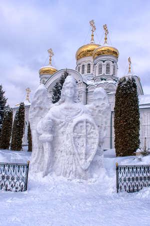 Raifsky Mother of God Monastery in winter