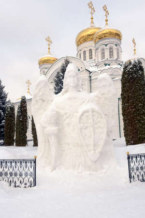 Raifsky Mother of God Monastery in winter