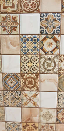 brown ceramic scarves with patterns