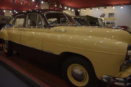 Russia, Nizhny Novgorod 05,12,2019 History Museum of Russian car-producer GAZ