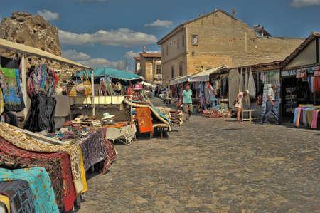 Turkey, Cappadocia 11.07,2019 Street trading souvenirs, Cappadocia, Turkey