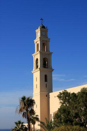 yaffo: Iglesia de San Pedro en Old Yaffo, Israel