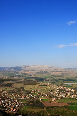 View of Galilee from Arbel mountain, Israel Stock Photo - 8699471