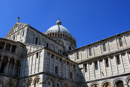 Pisa Cathedral (Duomo di Pisa), Tuscany, Italy Stock Photo