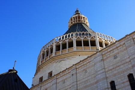 annunciation: The Basilica of the Annunciation, Nazareth, Israel