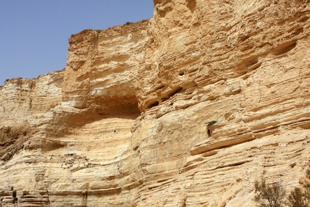 nature reserves of israel: Ein Avdat canyon in the Negev Desert, Israel