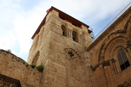 Exterior of the church of the Holy Sepulchre, Jerusalem, Israel Stock Photo - 13041877