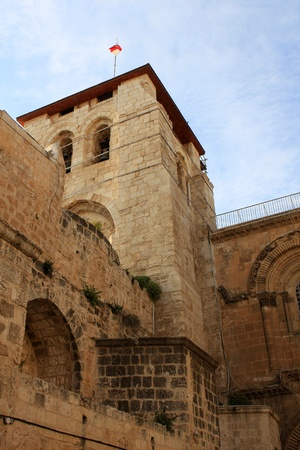 Exterior of the church of the Holy Sepulchre, Jerusalem, Israel Stock Photo - 13041878