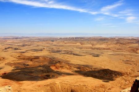 View of Ramon Crater  Makhtesh Ramon , Israel photo