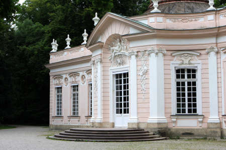 nymphenburg palace: Amalienburg, a hunting lodge in the grounds of Nymphenburg Palace, Munich