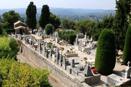chagall: St  Paul de Vence cemetery, France
