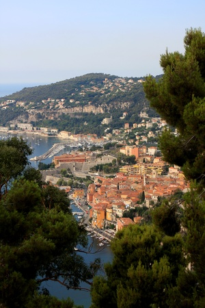 villefranche sur mer: Villefranche-sur-Mer resort, near Nice on the French riviera, France