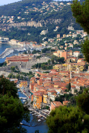 Villefranche-sur-Mer resort, near Nice on the French riviera, France photo