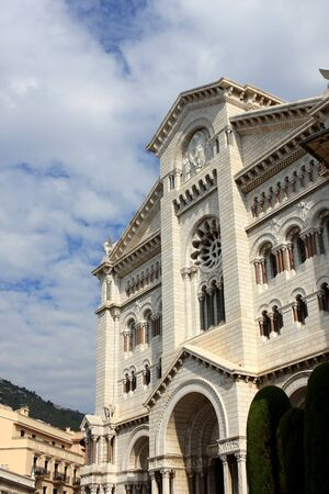Monaco cathedral is a Roman Catholic church in Monaco-Ville, Monaco