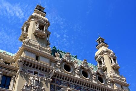 garnier: Detail of the Opera de Monte-Carlo, Garnier s opera , Monaco Editorial