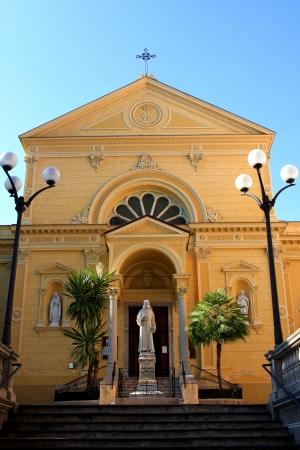 Chiesa dei Cappuccini, church in San Remo, Italy Stock Photo