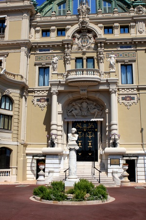 Monaco - August 2012: The Opera de Monte-Carlo, Garniers opera , Monaco