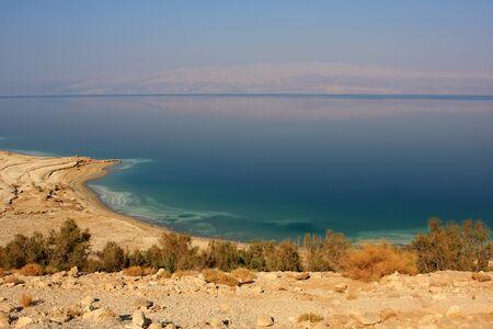 Photo of the coast of the Dead sea, Israel photo