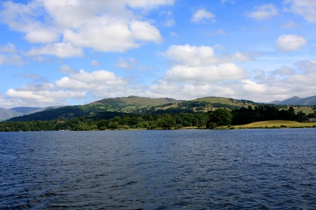 Windermere lake, largest natural lake in county of Cumbria, England Stock Photo - 21582044