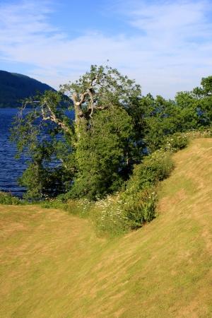 loch ness: View of Loch Ness in the Scottish Highlands, Scotland