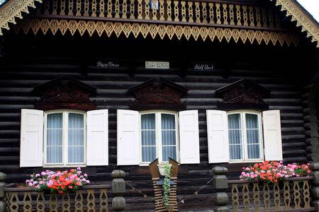 Typical house in the Russian Colony Alexandrowka, Potsdam, Germany