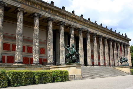 The Altes Museum (Old Museum) on Island in Berlin, Germany