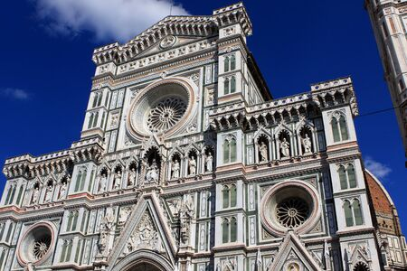 Cathedral of Santa Maria del Fiore, the main church in Florence, Italy Stock Photo