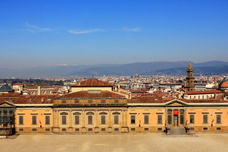 palazzo: The Palazzo Pitti, palace in Florence, Italy